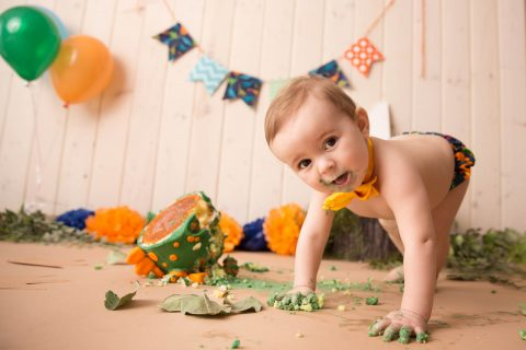 Cake Smash Professional Photography in RI and surrounding areas