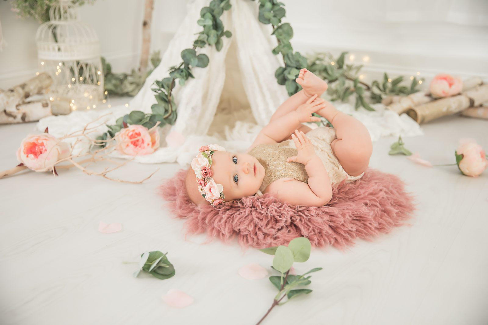 Baby Milestone Photography in MA and Surrounding Areas